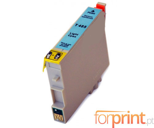 Cartucho de Tinta Compatible Epson T0485 Cyan Claro 18ml