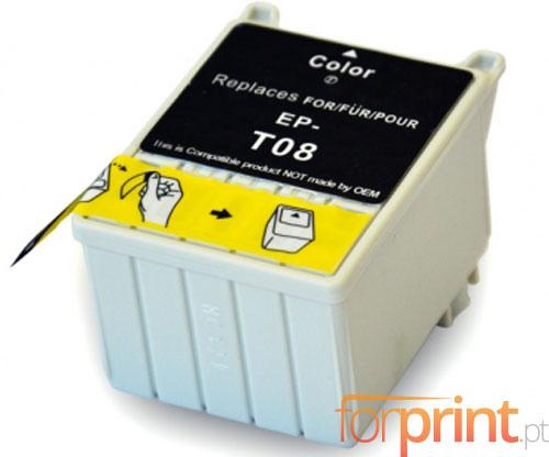 Cartucho de Tinta Compatible Epson T008 Colores 43ml