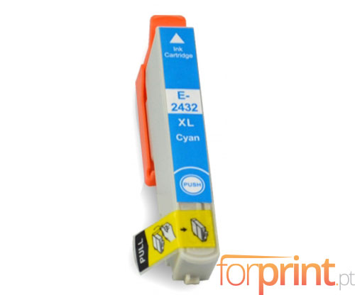 Cartucho de Tinta Compatible Epson T2422 / T2432 Cyan 13ml