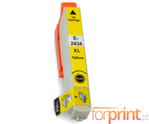 Cartucho de Tinta Compatible Epson T2424 / T2434 Amarillo 13ml