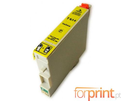 Cartucho de Tinta Compatible Epson T0614 Amarillo 15ml