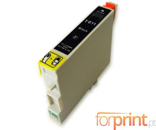 Cartucho de Tinta Compatible Epson T0611 Negro 17ml