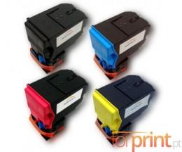 4 Cartuchos de Toneres Compatibles, Epson S05059X Negro + Colores ~ 6.000 Paginas