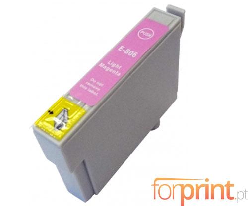 Cartucho de Tinta Compatible Epson T0806 Magenta Claro 13ml