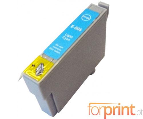 Cartucho de Tinta Compatible Epson T0805 Cyan Claro 13ml