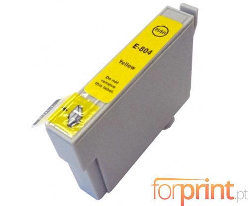 Cartucho de Tinta Compatible Epson T0804 Amarillo 13ml