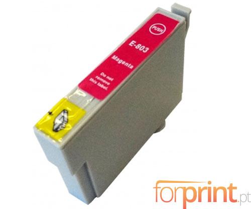 Cartucho de Tinta Compatible Epson T0803 Magenta 13ml