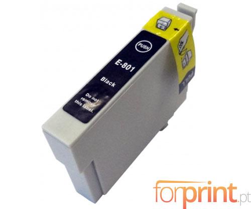 Cartucho de Tinta Compatible Epson T0801 Negro 13ml