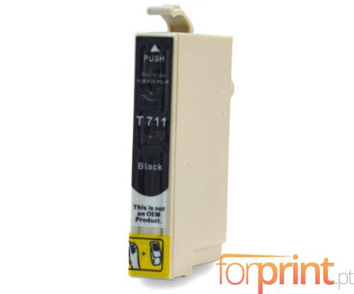 Cartucho de Tinta Compatible Epson T0711 / T0891 Negro 13ml