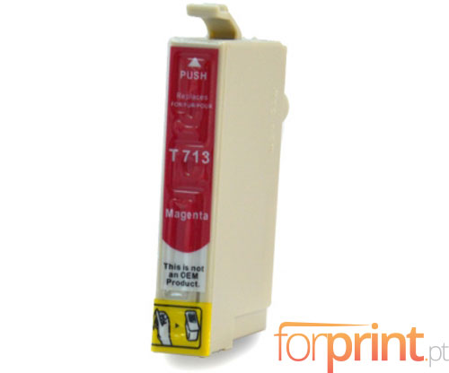 Cartucho de Tinta Compatible Epson T0713 / T0893 Magenta 13ml