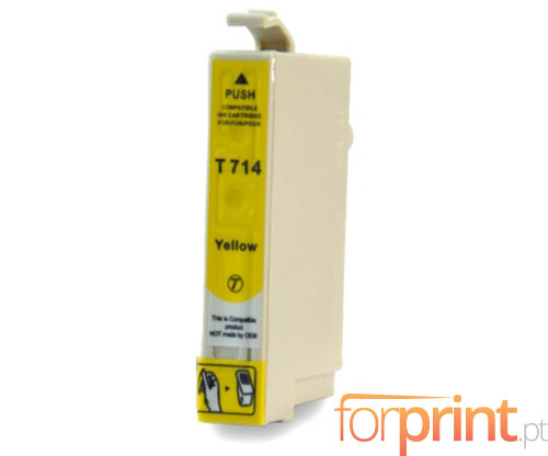 Cartucho de Tinta Compatible Epson T0714 / T0894 Amarillo 13ml