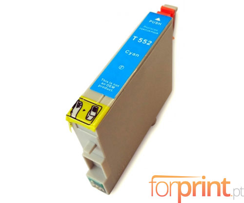 Cartucho de Tinta Compatible Epson T0552 Cyan 16ml