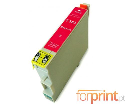 Cartucho de Tinta compatible Epson T0553 Magenta 16ml