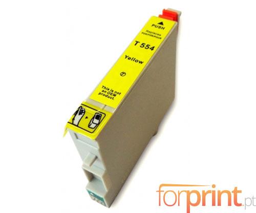 Cartucho de Tinta Compatible Epson T0554 Amarillo 16ml