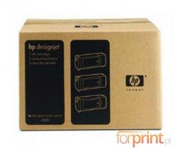 3 Cartuchos de tinta Originales, HP 90 Negro 775ml