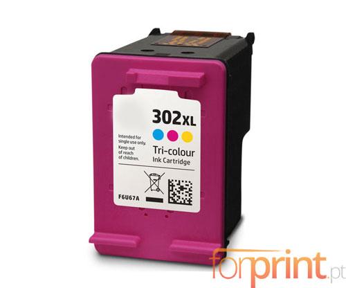 Cartucho de Tinta Compatible HP 302 XL Colores 18ml
