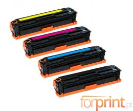 4 Cartuchos de Toneres Compatibles, HP 410X Negro + Colores ~ 6.500 / 5.000 Paginas