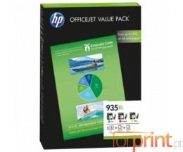 3 Cartuchos de tinta Originales, HP 935 XL ~ 825 Paginas