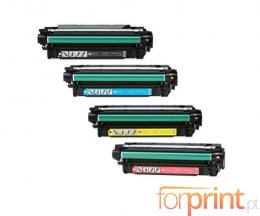 4 Cartuchos de Toneres Compatibles, HP 504X Negro + 504A Colores ~ 10.500 / 7.000 Paginas