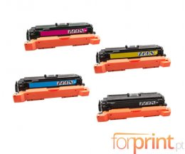 4 Cartuchos de Toneres Compatibles, HP 508X Negro + Colores ~ 12.500 / 9.500 Paginas