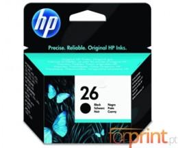 Cartucho de Tinta Original HP 26 Negro 40ml ~ 500 Paginas
