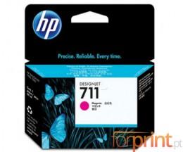3 Cartuchos de tinta Originales, HP 711 Magenta 29ml