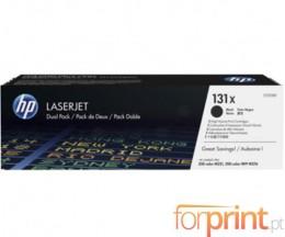 2 Cartuchos de Toneres Originales, HP 131X Negro ~ 2.400 Paginas