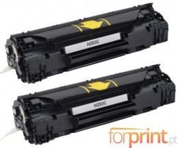 2 Cartuchos de Toneres Compatibles, HP 83A Negro ~ 1.500 Paginas