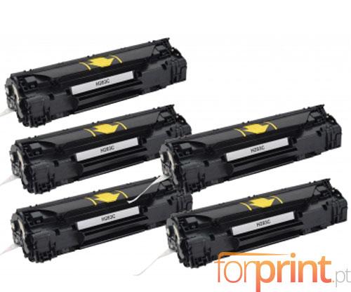 5 Cartuchos de Toneres Compatibles, HP 83A Negro ~ 1.500 Paginas