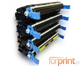 4 Cartuchos de Toneres Compatibles, HP 641A Colores + Negro 9.000 / 8.000 Paginas