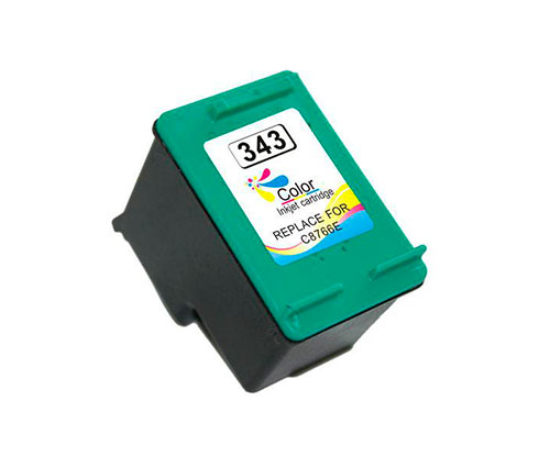Cartucho de Tinta Compatible HP 343 Colores 18ml