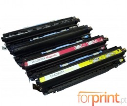 4 Cartuchos de Toneres Compatibles, HP 308A Negro + HP 309A Colores ~ 6.000 / 4.000 Paginas
