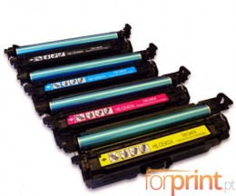 4 Cartuchos de Toneres Compatibles, HP 507X Negro + 507A Colores ~ 11.000 / 5.500 Paginas