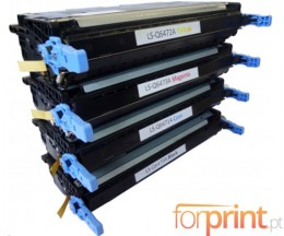 4 Cartuchos de Toneres Compatibles, HP 501A Negro + 502A Colores ~ 6.000 / 4.500 Paginas