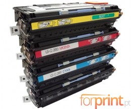 4 Cartuchos de Toneres Compatibles, HP 308A Negro + HP 311A Colores ~ 6.000 Paginas