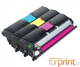 3 Cartuchos de Toneres Originales, Konica Minolta A00W012 Colores ~ 4.500 Paginas
