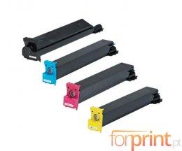 4 Cartuchos de Toneres Compatibles, Konica Minolta 893870X Negro + Colores ~ 20.000 / 12.000 Paginas