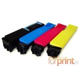 4 Cartuchos de Toneres Compatibles, Kyocera TK 540 Negro + Colores ~ 6.000 / 5.000 Paginas