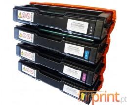 4 Cartuchos de Toneres Compatibles, Kyocera TK 150 Negro + Colores ~ 6.000 Paginas