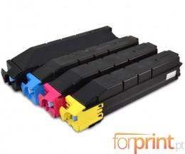 4 Cartuchos de Toneres Compatibles, Kyocera TK 8305 Negro + Colores ~ 25.000 / 15.000 Paginas