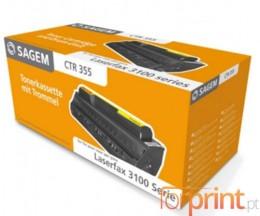 Cartucho de Toner Original Sagem CTR355 Negro ~ 2.000 Paginas