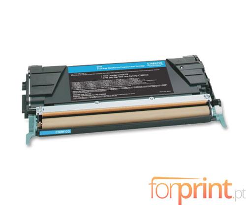 Cartucho de Toner Compatible Lexmark C746A1CG Cyan ~ 7.000 Paginas