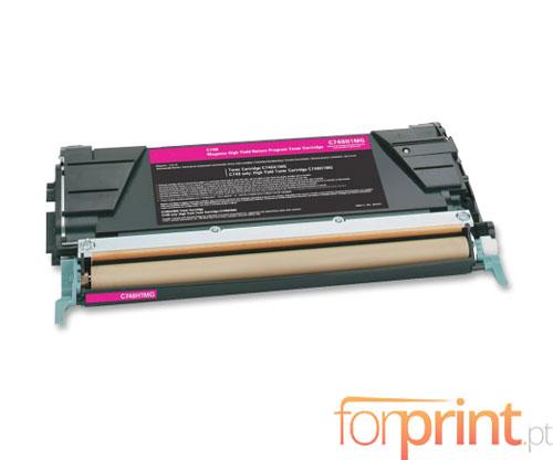 Cartucho de Toner Compatible Lexmark C746A1MG Magenta ~ 7.000 Paginas