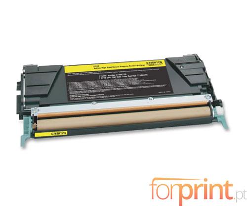 Cartucho de Toner Compatible Lexmark C746A1YG Amarillo ~ 7.000 Paginas