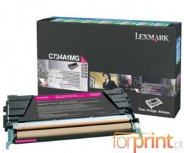 Cartucho de Toner Original Lexmark C734A1MG Magenta ~ 6.000 Paginas