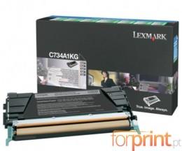 Cartucho de Toner Original Lexmark C734A1KG Negro ~ 8.000 Paginas