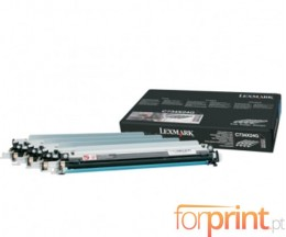 4 Tambores Originales, Lexmark C734X24G Negro + Colores ~ 20.000 Paginas