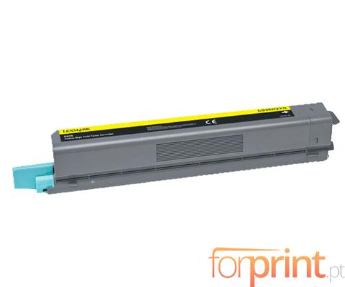 Cartucho de Toner Compatible Lexmark C925H2YG Amarillo ~ 7.500 Paginas