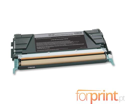 Cartucho de Toner Compatible Lexmark C746H1KG Negro ~ 12.000 Paginas