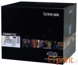 Tambor de imagen Original Lexmark C540X71G Negro ~ 30.000 Paginas